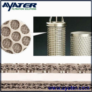 Rigimesh Welded Pleated Sintered Metal Filter Elements pictures & photos