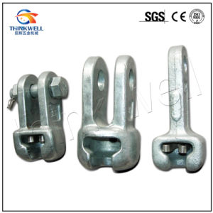 Forged Steel Galvanized Socket Clevis Extension Overhead Line Fitting pictures & photos