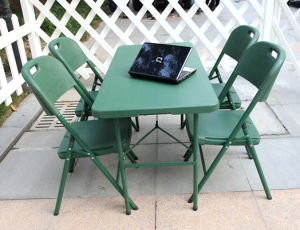 New Green Banquet Table with Chairs (SY-122Z) pictures & photos