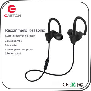 2017 New Design Sports Bluetooth Wireless Earphone with Microphone