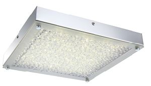 Modern 17W LED Chrome and Crystal Ceiling Lamp (LED-15109-SQ) pictures & photos