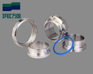 Pipe Fitting DIN ISO SMS Union Stainless Steel Sanitary Union pictures & photos
