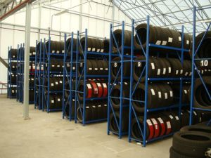 High Performance Pallet Rack Storage Tire Rack pictures & photos