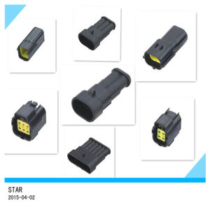 Best Quality 4 Way Male and Female Auto Connector pictures & photos
