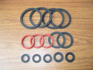 Custom Equipment Flat Rubber Washer pictures & photos