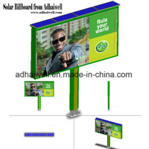 6mx3m Backlit Billboard Solar Free Power for Lighting Outdoor Advertising Billboard pictures & photos