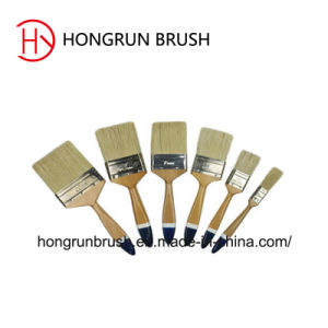 Wooden Handle Paint Brush Hy0603 pictures & photos