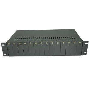 14 Grooves Media Converter Rack Mount for Standalone Media Converters (APT-CPS2-MC14)