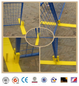Temporary Fence with Iron Feet PVC Coated pictures & photos