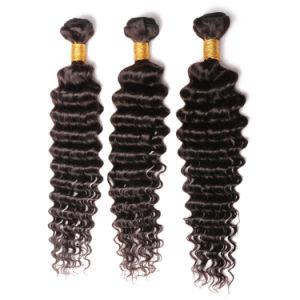 Deep Wave Brazilian Hair 7A Deep Curly Weave Human Hair pictures & photos