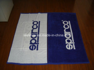100% Cotton Velour Double Sides Printed Towel pictures & photos