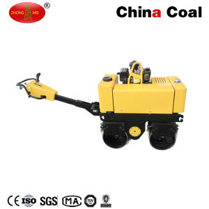 Zm-50c Walk Behind Self-Propelled Diesel Engine Vibratory Compactor Road Roller pictures & photos