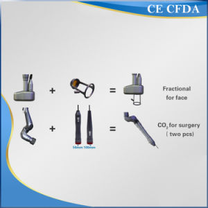 Fractional CO2 Laser Glass Tube Multi Function Asthetic Equipment pictures & photos