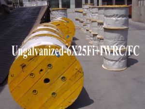 Steel Wire Rope (6X25Fi+IWRC, 6X25Fi+FC) pictures & photos