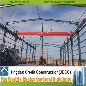 Light Steel Structure Factory Workshop with Crane Beam pictures & photos