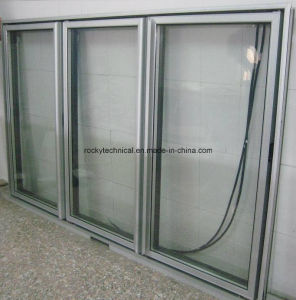 Pharmacies Glass Door with Vacuum Insulating Glass pictures & photos