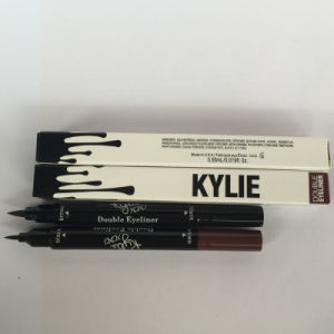 Kylie Double Eyeliner Liquid Eyeliner Waterproof and Long-Lasting Eyeliner Pencil pictures & photos