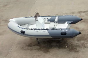Aqualand 14feet 4.2m Rigid Inflatable Fishing Boat/Rib Rescue Boat (RIB420A) pictures & photos