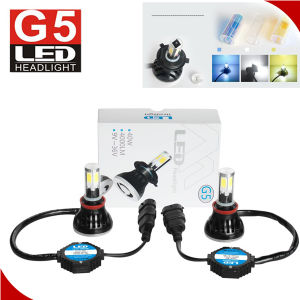 2017 latest LED Headlight Kit for Car Super Waterproof IP68 COB LED Headlight pictures & photos