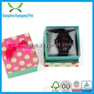 Leather Watch Gift Box Paper Watch Storage Box pictures & photos