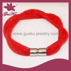 Red Charm Bracelet Jewelry (2015 Gus-Fsb-023)