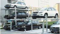 Three Level Simple Parking Equipment with Pit pictures & photos