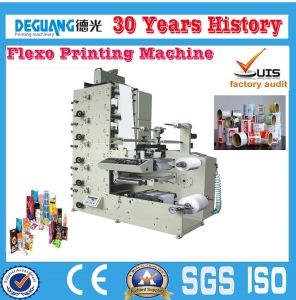 Best Sale Automatic Flexo Printing Machine for Plastic Film (DGRY320-4C) pictures & photos