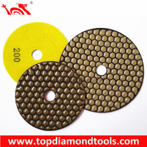 Premium Quality Dry Flexible Diamond Polishing Pads pictures & photos