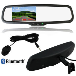 4.3inch Bluetooth Rearview Car Mirror Monitor with Auto Brightness Adjustment (YX-9299B)
