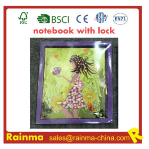 Notebook with Lock for Kids Stationery Gift pictures & photos
