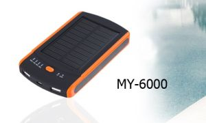 5V 6000mAh Solar Charger Power Bank pictures & photos