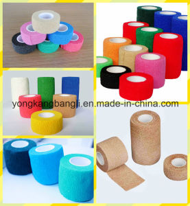 Elastic Cohesive Bandage Vet Wrap Bandage pictures & photos