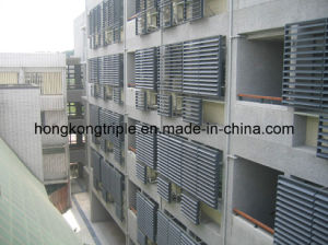 PVDF Powder Coated Aluminum Sunshade Louver and Shutter