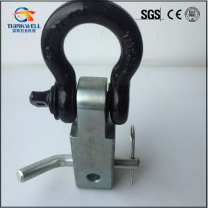 Forged Tow Winch Receiver Mount with Shackle pictures & photos
