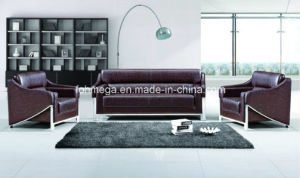 Guangzhou Home Furniture Luxury High End Lobby Meeting Sofa (FOH-8083) pictures & photos