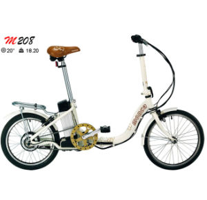 Beautiful Folding E Bike Folded Electric Bicycle Alloy Frame Shimano Gear 8fun Motor 500W 350W pictures & photos