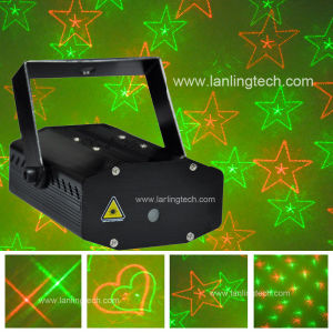Red Green Mini Laser Light, Gobo Cluster Laser Projector MNB41RG pictures & photos