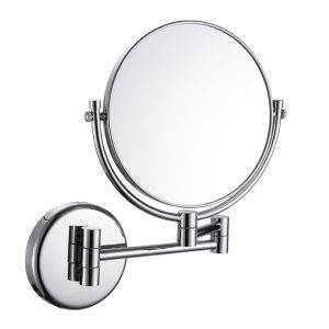 Metal and Chrome Double Side Makeup Mirror (WT-1438) pictures & photos