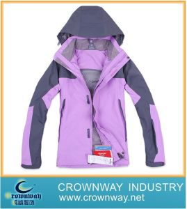 Fashion Womens Windbreaker Sports Outerwear for Ski pictures & photos