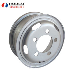 Tube Steel Wheel (5.5-16 6.0-16 6.5-16 6.5-20) pictures & photos