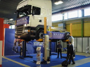 Maxima Heavy Duty Column Lift Ml4022 Ce Certified Bus Lift/Truck Lift pictures & photos
