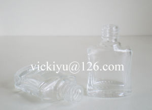 5ml Square Glass Bottles for Nail Polish, Cosmetics