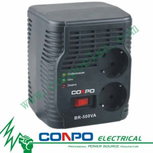 Br-500va Relay Euro Socket Automatic Voltage Regulator/Stabilizer pictures & photos