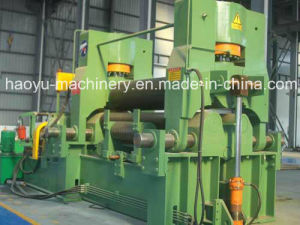 Hydraulic Three Roller Plate Rolling Machine
