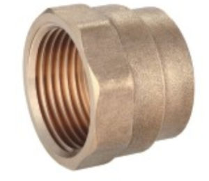 Brass Fittings Female Reducing Coupling Copper Tb-10 pictures & photos
