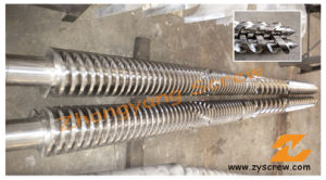 Conical Twin/Double Screw and Barrel for PVC Extrusion pictures & photos