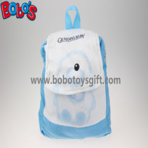 "11.8""Blue and White Children Backpack Has a Pattern of Bear Bos-1232/30cm pictures & photos"