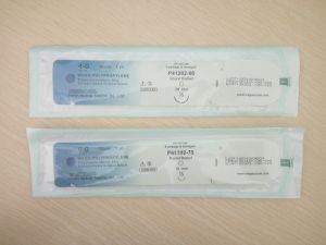 Cardiovascular Suture-Polypropylene Suture with Double Needle pictures & photos