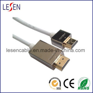 Ultra-Slim HDMI Cable with Ethernet, High Quality pictures & photos