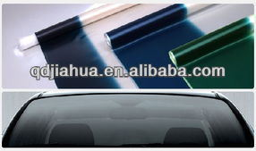 Gray-on-Green 0.76mm Thickness PVB Interlayer for Car Windshield Glass pictures & photos